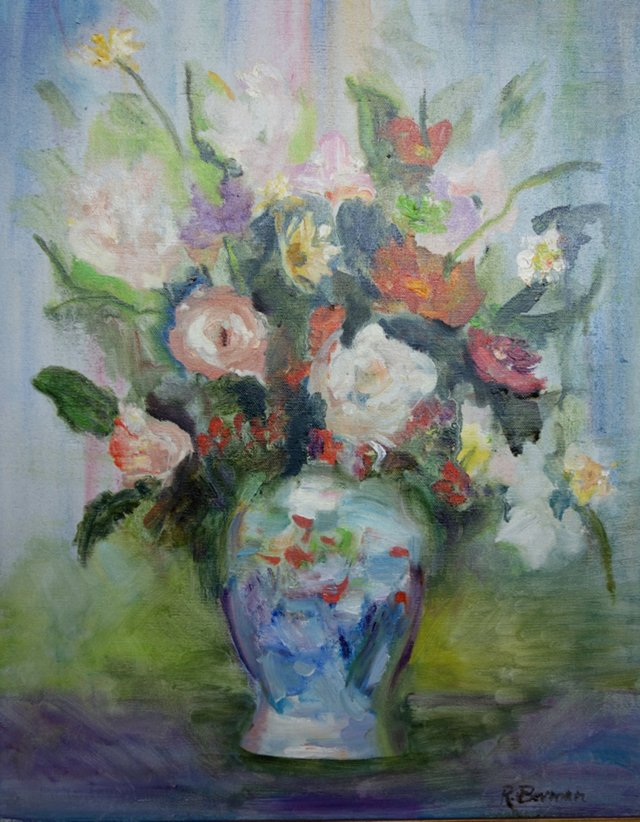 Floral Still Life by Ruth Berman