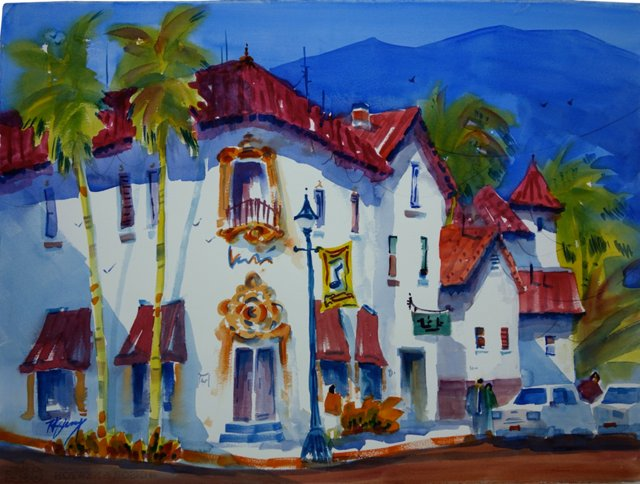 Mexican Street Corner by Rich Kenny
