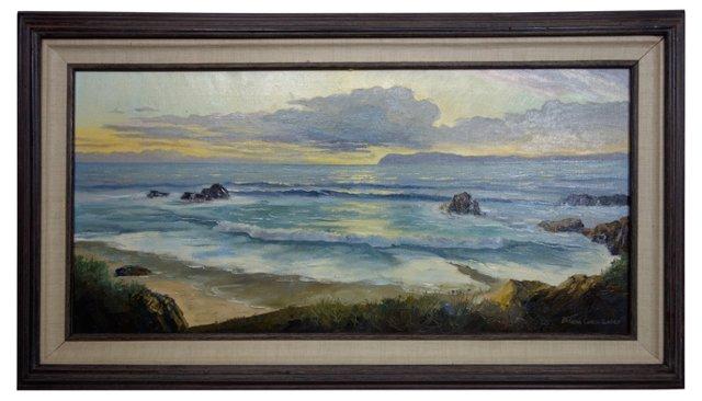 Coastal Sunset by Borge Christensen