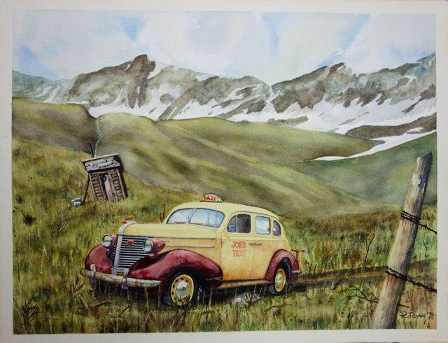 Joe's Taxi by R. Farney 1978