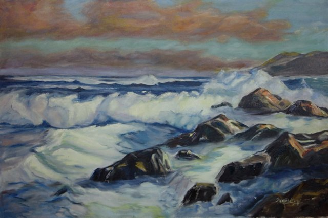 Seascape by Sharon Boyle