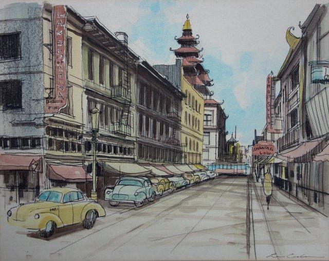 Shanghai Street Perspective