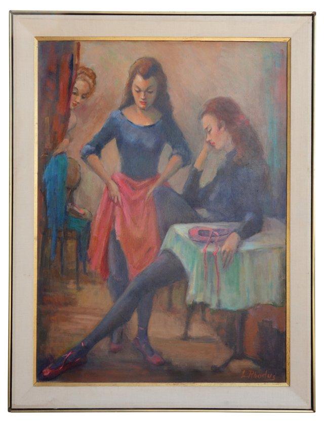Dancers by Lillian Rhodus