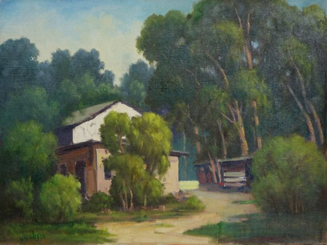 Wooded Home by Nellie Pearl Jacobson