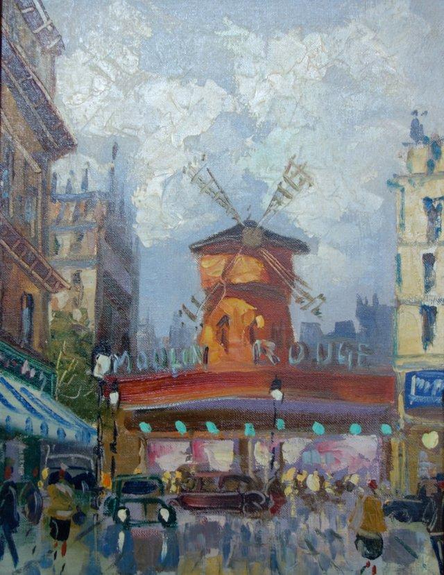 Vue de Moulin  Rouge