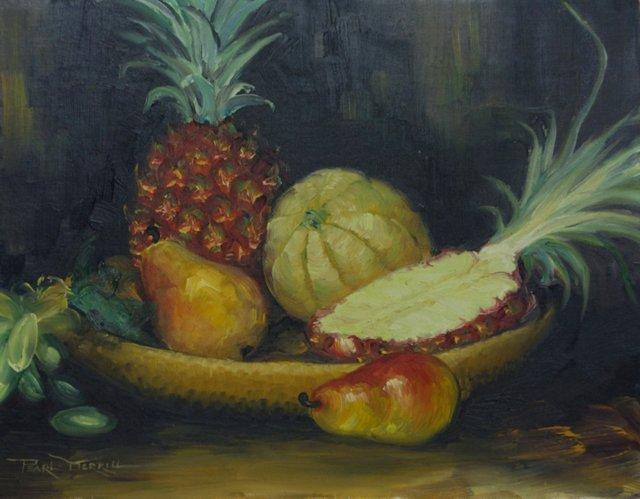 Still Life w/ Pineapple
