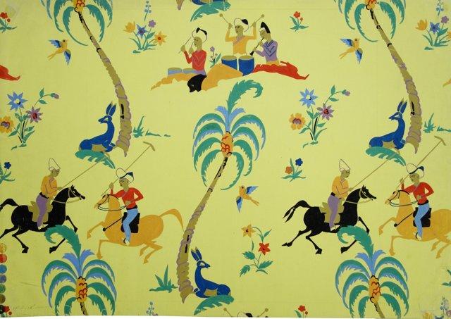 Arabian Wallpaper Study