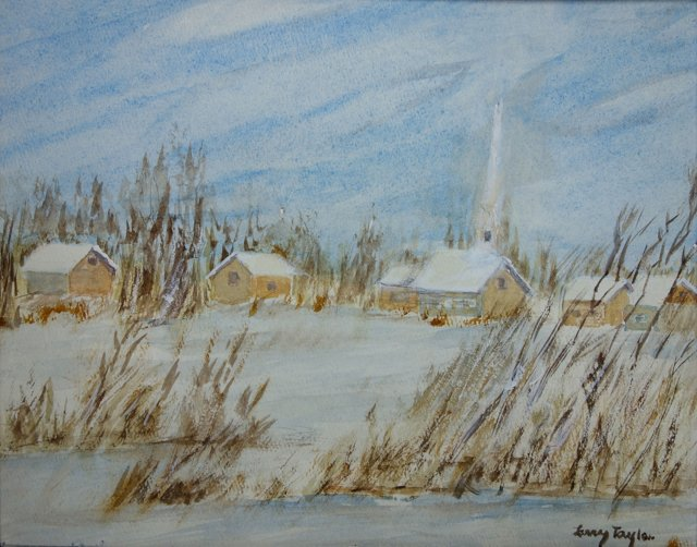 Church Along Snowy River