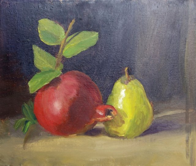Pomegranate & Pear
