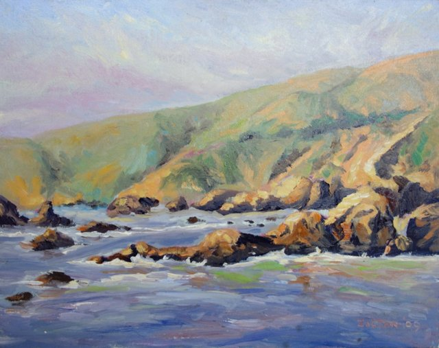 California Coast by Charles Zoltan
