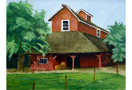 Barn by Keyes