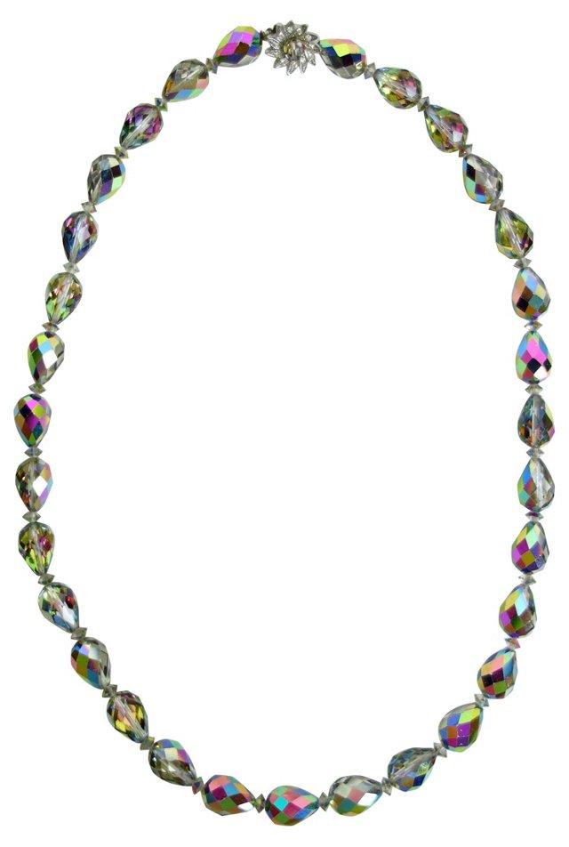 Aurora Borealis Crystal Necklace