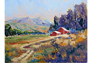 Los Olivos Farm by Charles Zoltan