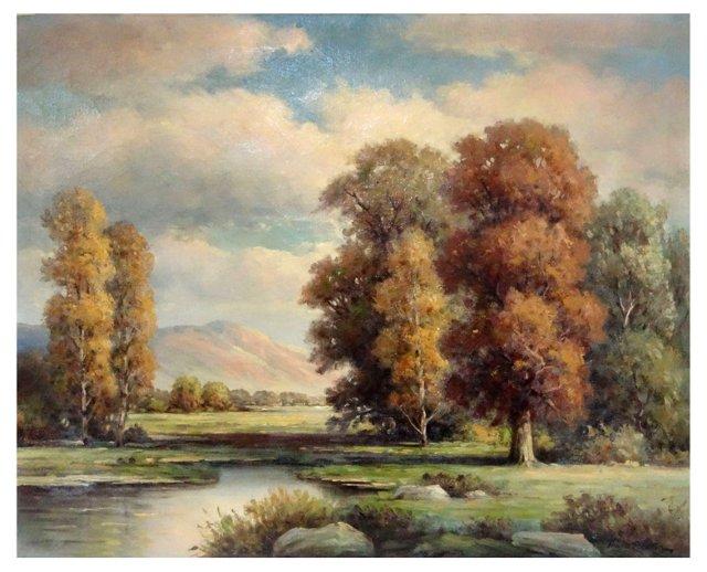 Landscape by Thomas P. Patten