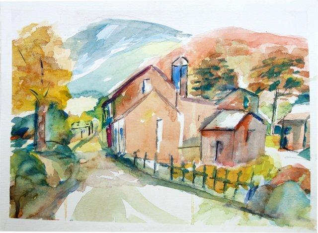 Rural Scene by Fern Powell