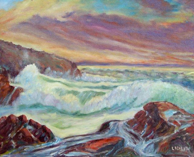 Seascape by L. Armenta
