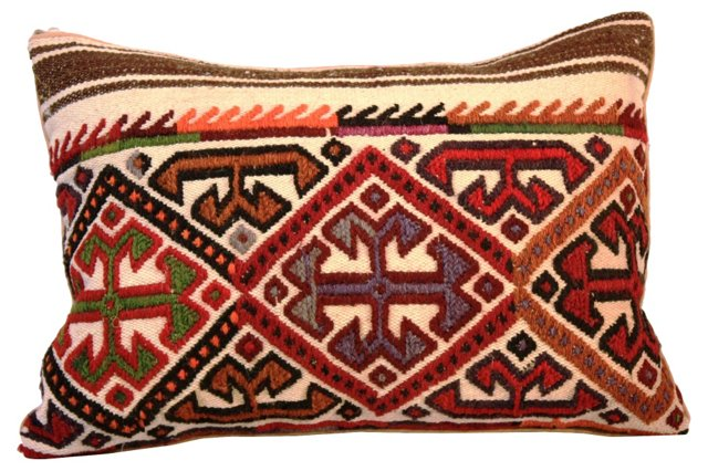 Embroidered Turkish        Pillow