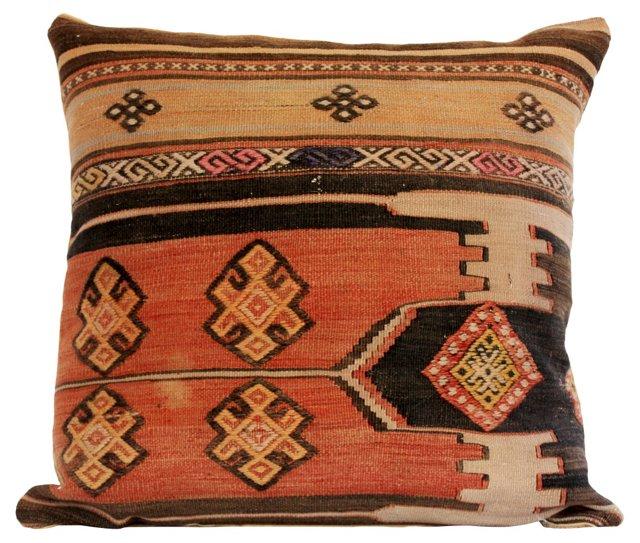 Traditional Geometric Kilim Pillow