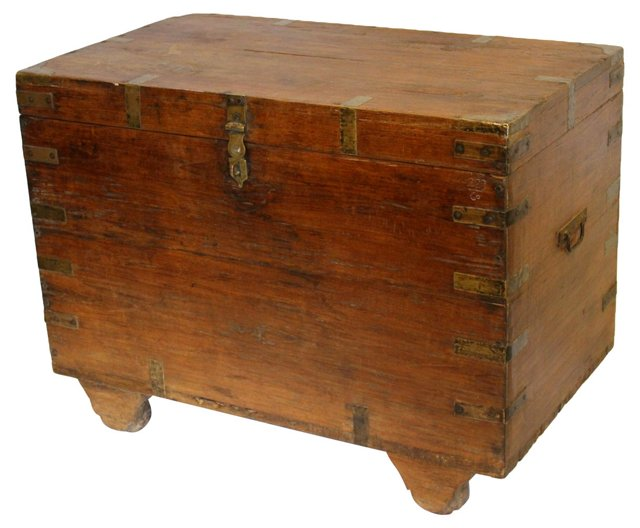 19th-C. Anglo-Indian Chest