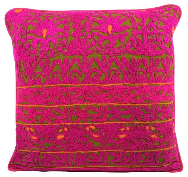 Fuchsia Mathuravati      Pillow