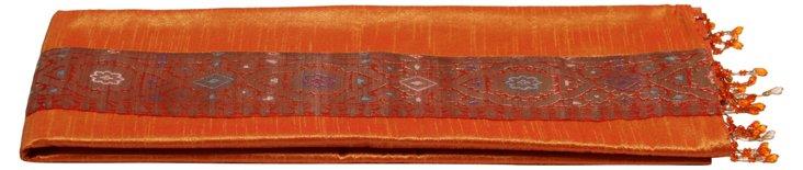 Tangelo Silk Table Runner
