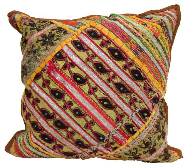 Antique Gujarati  Pillow