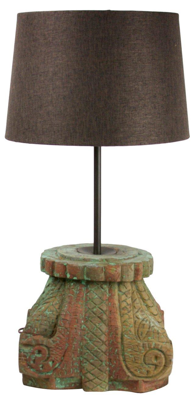 Antique Architectural Column Lamp
