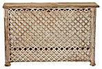 Lattice-Front Reclaimed Teak Console