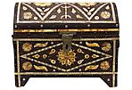 Mid-20th-C. Bone Inlay Chest