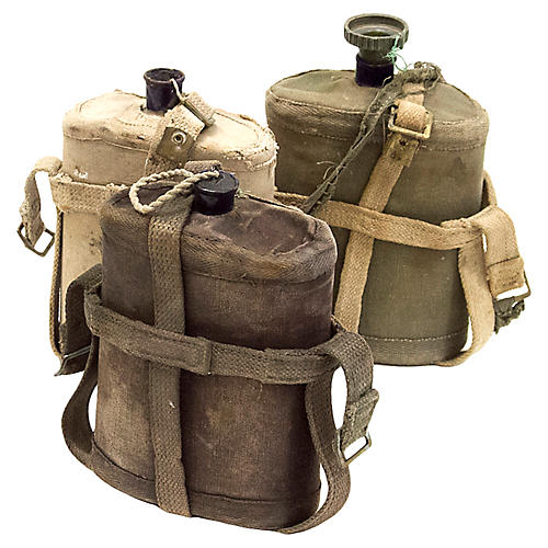 Antique Military Canteens, S/3