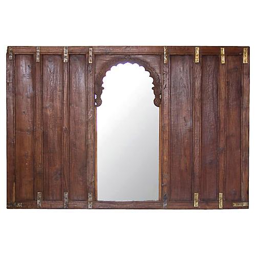 19th Century British Colonial Mirror