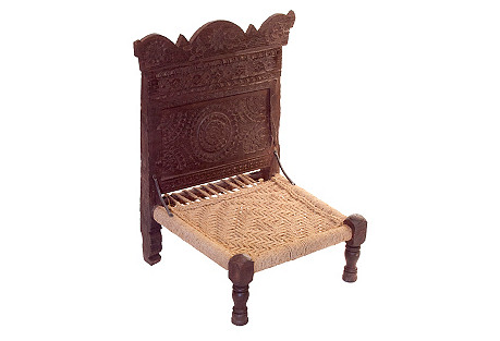 Antique Tribal Pida Chair