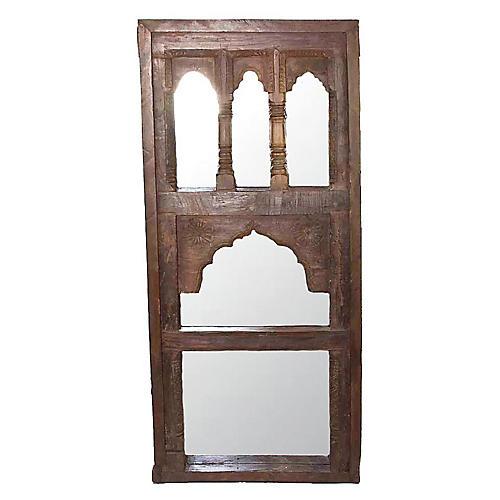 19th Century Moorish Arched Mirror