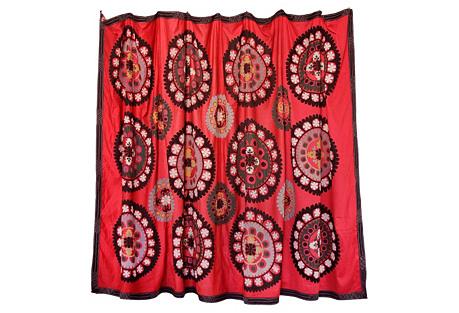 Royal Red Suzani