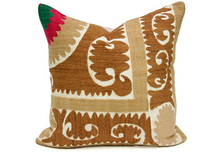 Suzani Traditional Pillow