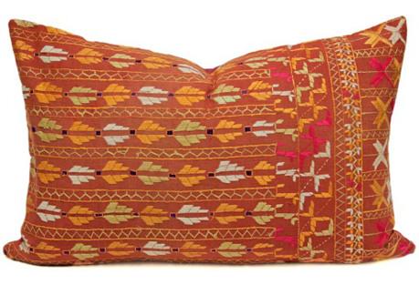 Supreme Lumbar Bagh Phulkari Pillow
