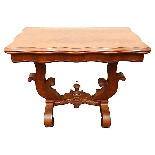 Antique Empire-Style Console Table