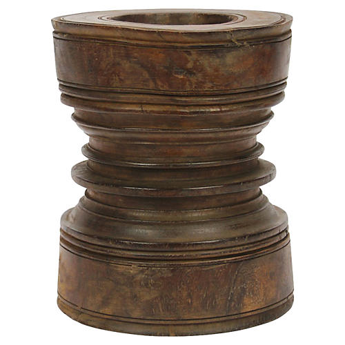 Antique Painted Grinder Stool