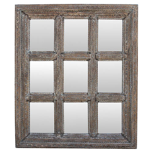 Multi-Panel Window Mirror