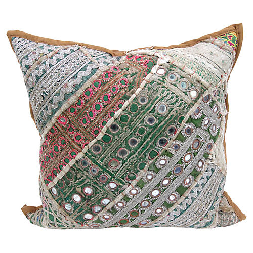 Green Paki Pillow