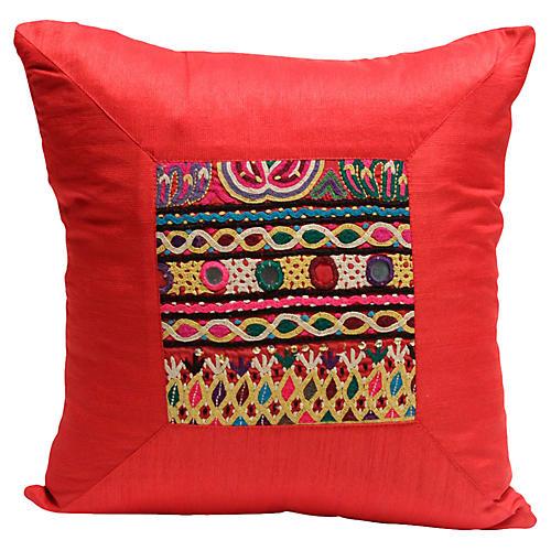 Radiant Nehar Kutch Pillow
