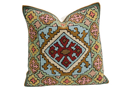Watal Gulmarg Aari Pillow