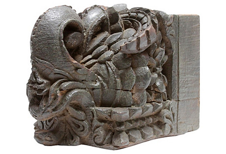 Antique Flourishing Corbel
