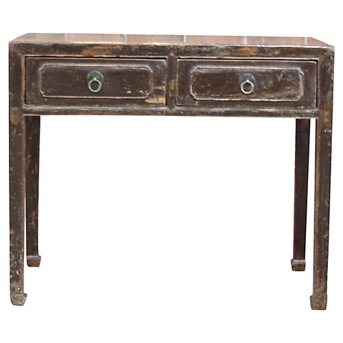 Ming-Style Lacquered Table