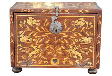 Spanish Marquetry Bargueño