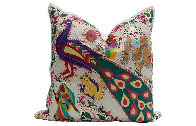 Peacock Jaisalmer Pillow