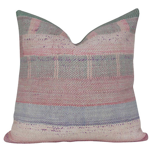 Bengal Kantha Square Pillow