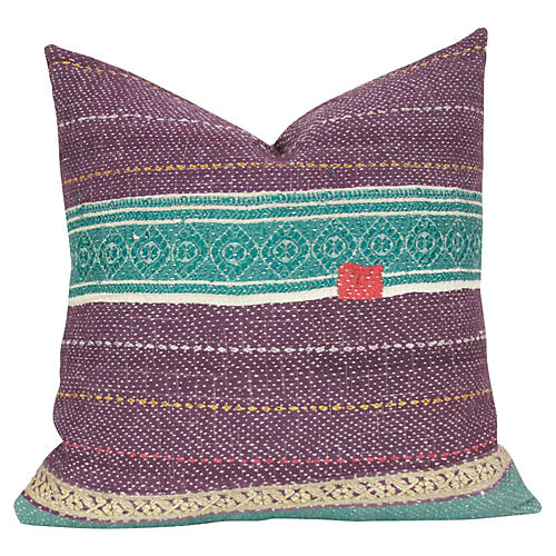 Oorja Bengal Kantha Pillow