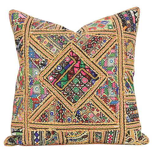 Geometric Jaisalmer Pillow