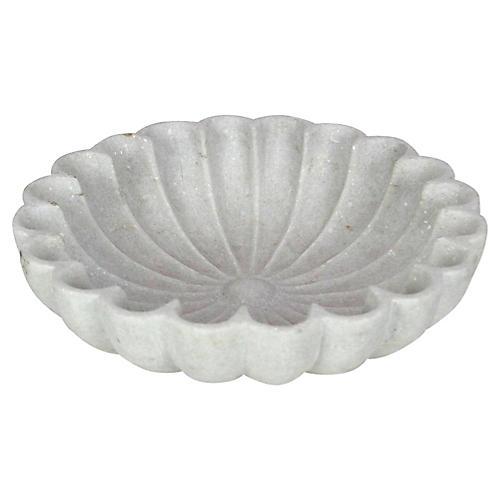 Carved Lotus Mandala Bowl